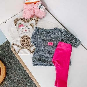 Other - 🌙3/15🌙Baby Girl Outfit - Size 3-6 months